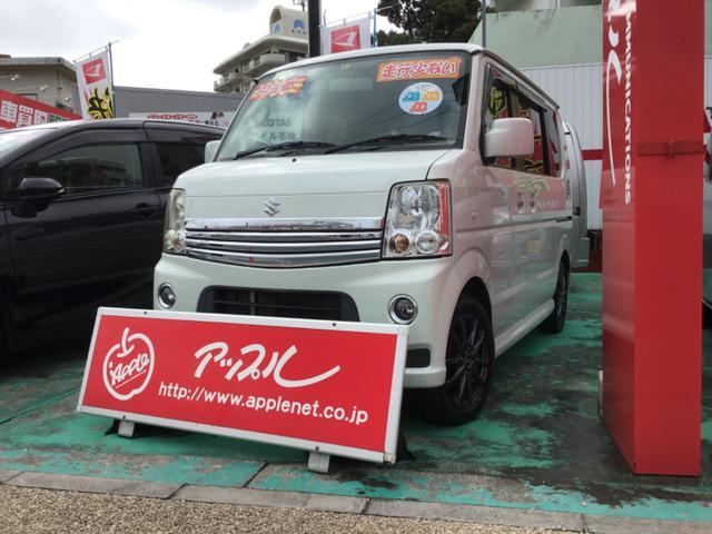 沖縄の中古車 スズキ エブリイワゴン 車両価格 80万円 リ済込 2012(平成24)年 4.9万km パールホワイト