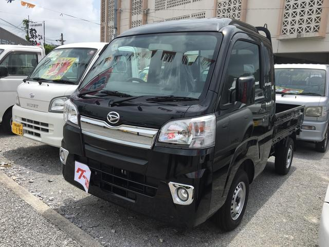 沖縄の中古車 ダイハツ ハイゼットトラック 車両価格 ASK リ済込 新車  ブラック