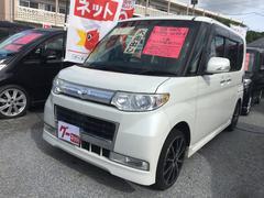 沖縄の中古車 ダイハツ タント 車両価格 69万円 リ済込 平成22年 9.5万K パールホワイト