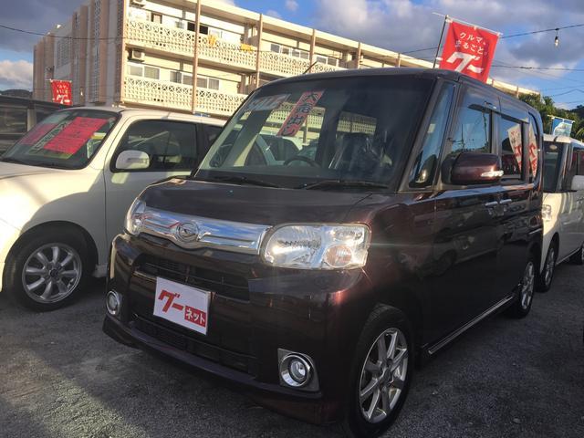 沖縄の中古車 ダイハツ タント 車両価格 75万円 リ済込 平成25年 7.5万km パープル