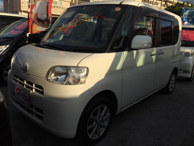 沖縄の中古車 ダイハツ タント 車両価格 61万円 リ済込 平成23年 9.2万km パールホワイト