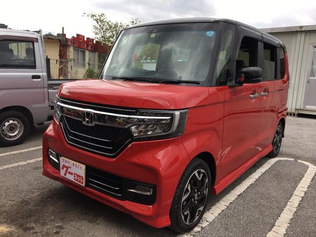 沖縄の中古車 ホンダ N-BOXカスタム 車両価格 ASK リ未 新車  レッドII