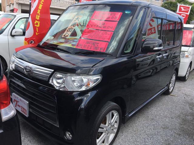 沖縄の中古車 ダイハツ タント 車両価格 68万円 リ済込 2011(平成23)年 7.5万km パープル