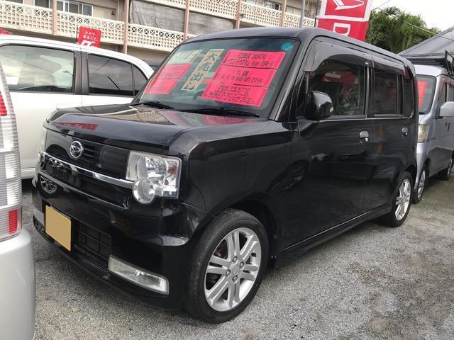 沖縄の中古車 ダイハツ ムーヴコンテ 車両価格 58万円 リ済込 平成23年 9.0万km ブラック