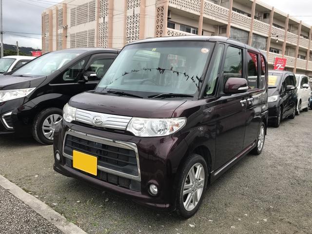沖縄の中古車 ダイハツ タント 車両価格 68万円 リ済込 平成24年 8.5万km ブラウン