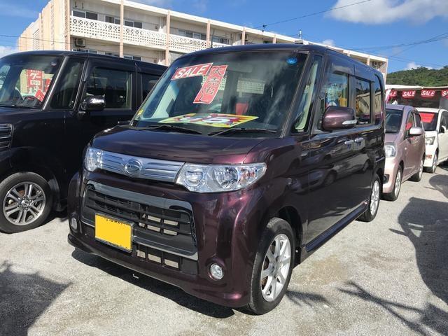 沖縄の中古車 ダイハツ タント 車両価格 65万円 リ済込 2013(平成25)年 5.6万km DブラウンM