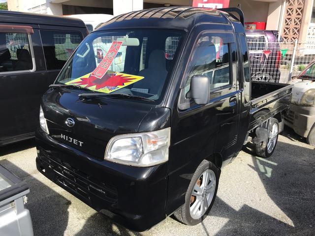 沖縄の中古車 ダイハツ ハイゼットトラック 車両価格 ASK リ済込 2013(平成25)年 5.5万km ブラック