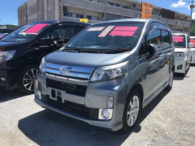 沖縄の中古車 ダイハツ ムーヴ 車両価格 ASK リ済込 2014(平成26)年 7.8万km グレー