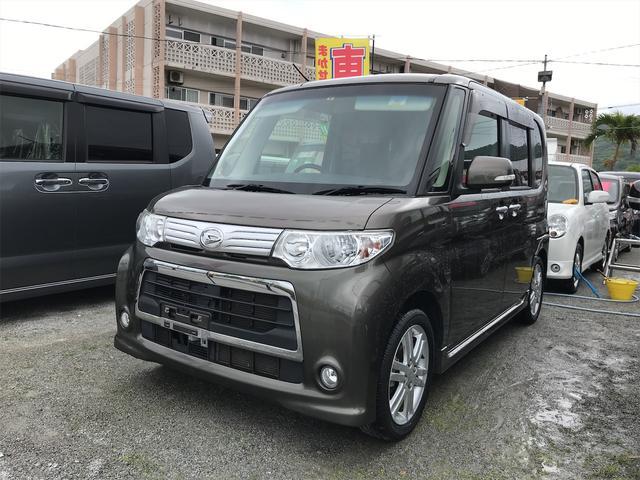 沖縄の中古車 ダイハツ タント 車両価格 ASK リ済込 2013(平成25)年 6.3万km グレー