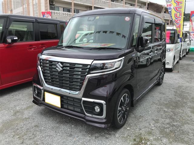 沖縄の中古車 スズキ スペーシアカスタム 車両価格 ASK リ済込 2018(平成30)年 0.6万km パープル