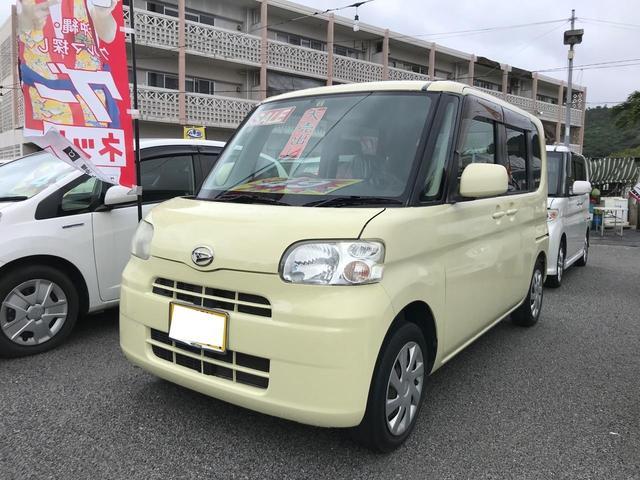 沖縄の中古車 ダイハツ タント 車両価格 49万円 リ済込 2011(平成23)年 7.3万km イエロー