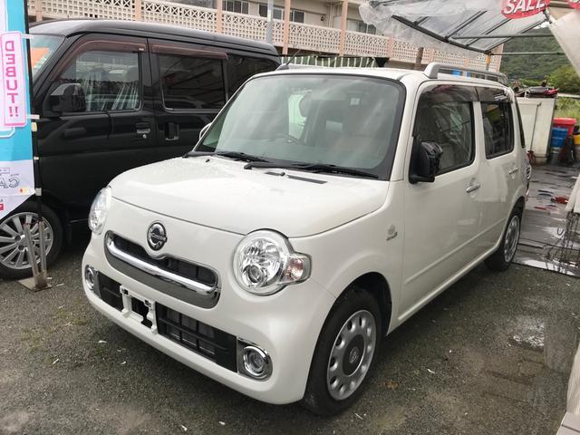 沖縄の中古車 ダイハツ ミラココア 車両価格 ASK リ済込 2015(平成27)年 5.2万km パールホワイト