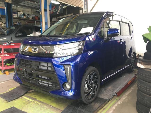 沖縄の中古車 ダイハツ ムーヴ 車両価格 162.5万円 リ未 新車  ブルー