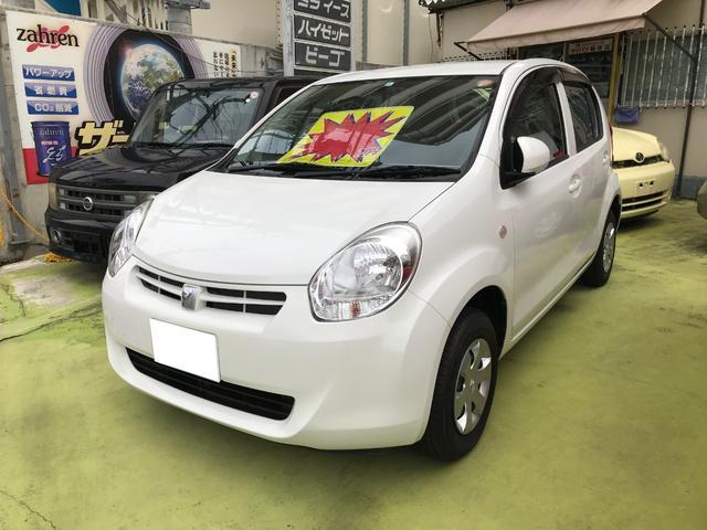 沖縄の中古車 トヨタ パッソ 車両価格 39万円 リ済込 2012(平成24)年 6.8万km ホワイト