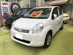 沖縄の中古車 トヨタ パッソ 車両価格 45万円 リ済込 平成24年 6.8万K ホワイト
