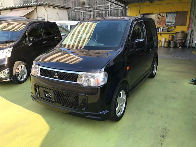 沖縄の中古車 三菱 eKスポーツ 車両価格 39万円 リ済込 2009(平成21)年 12.5万km ブラック