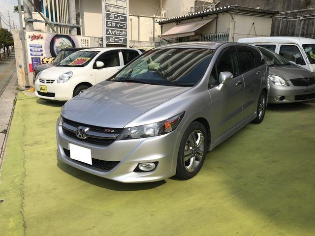 沖縄県の中古車ならストリーム RSZ ナビ TV キーレス HID 盗難防止システム