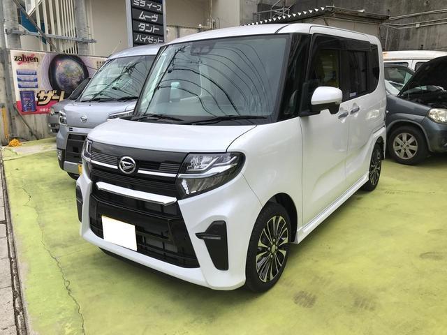 沖縄の中古車 ダイハツ タント 車両価格 175万円 リ未 新車  パールホワイト