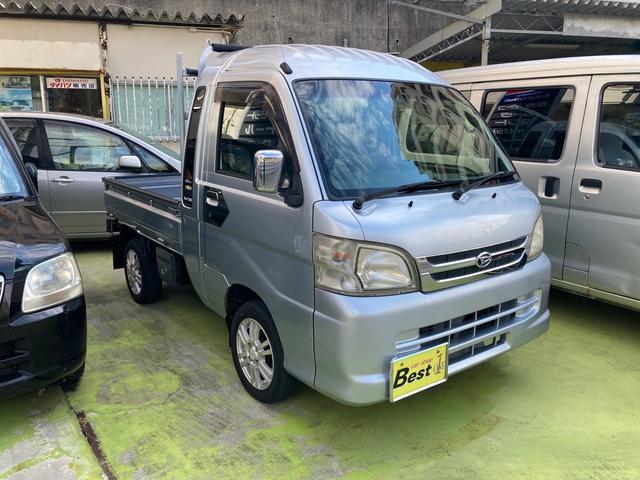 沖縄県宜野湾市の中古車ならハイゼットトラック ジャンボ 2WD MT5速 TV ETC CD 社外アルミ 社外オーディオ ミュージックプレイヤー接続可