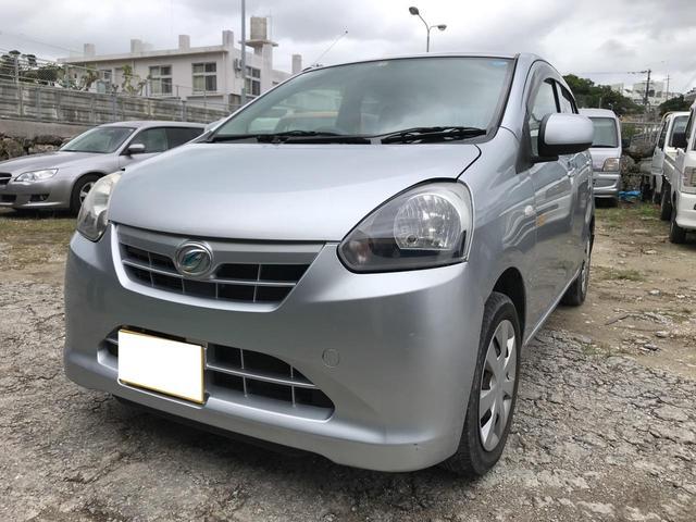沖縄の中古車 ダイハツ ミライース 車両価格 ASK リ済込 2013(平成25)年 9.6万km シルバー