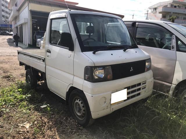 沖縄の中古車 三菱 ミニキャブトラック 車両価格 ASK リ済込 2005(平成17)年 6.8万km ホワイト