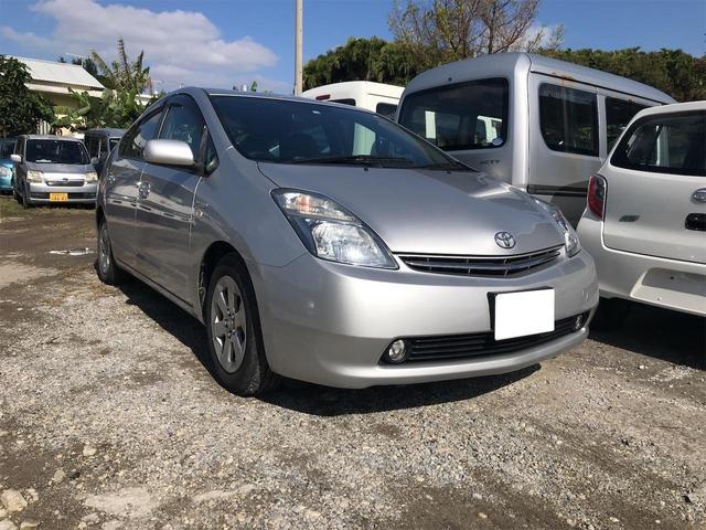 沖縄の中古車 トヨタ プリウス 車両価格 ASK リ済込 2008(平成20)年 11.7万km シルバー