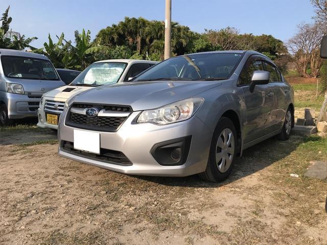 沖縄の中古車 スバル インプレッサG4 車両価格 39万円 リ済込 2013(平成25)年 5.9万km シルバー