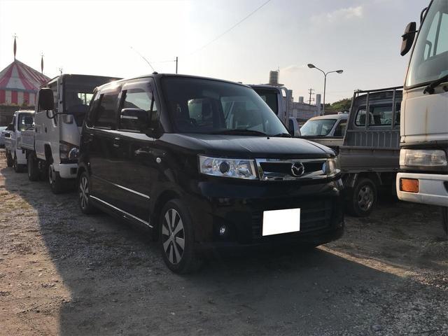沖縄の中古車 マツダ AZワゴン 車両価格 ASK リ済込 2008(平成20)年 11.1万km ブラック