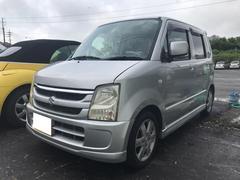 沖縄の中古車 スズキ ワゴンR 車両価格 17万円 リ済込 平成18年 13.5万K シルバー