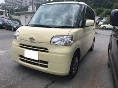 沖縄の中古車 ダイハツ タント 車両価格 49万円 リ済込 平成22年 6.9万K イエロー