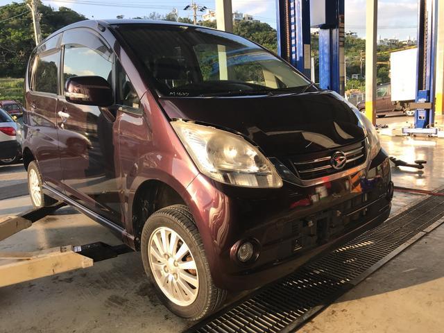 沖縄の中古車 ダイハツ ムーヴ 車両価格 32万円 リ済込 平成22年 9.2万km ブラウンM