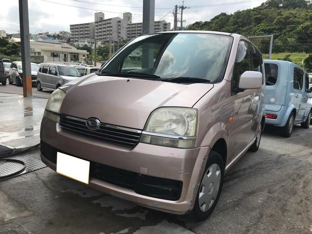 沖縄の中古車 ダイハツ ムーヴ 車両価格 14万円 リ済込 2004(平成16)年 13.8万km ピンク