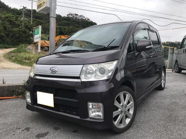 沖縄の中古車 ダイハツ ムーヴ 車両価格 34万円 リ済込 平成21年 11.1万km パープル