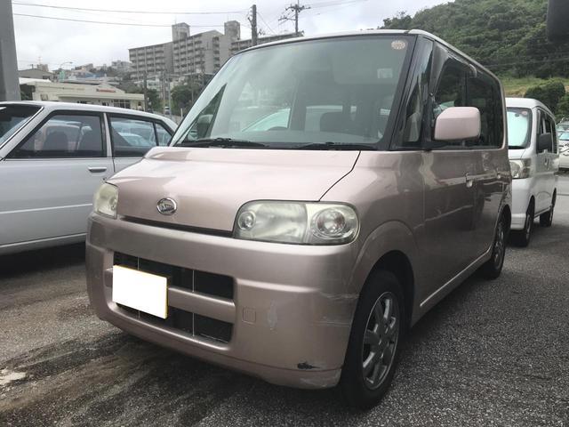 沖縄の中古車 ダイハツ タント 車両価格 20万円 リ済込 年式不明 13.4万km ピンク