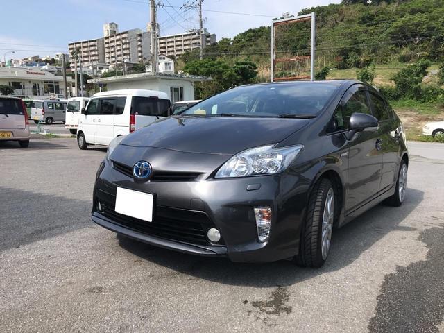 沖縄の中古車 トヨタ プリウス 車両価格 58万円 リ済込 2010(平成22)年 11.9万km グレー