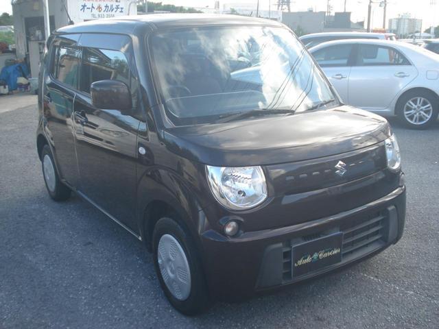沖縄の中古車 スズキ MRワゴン 車両価格 39万円 リ済別 2011(平成23)後 8.4万km DブラウンM