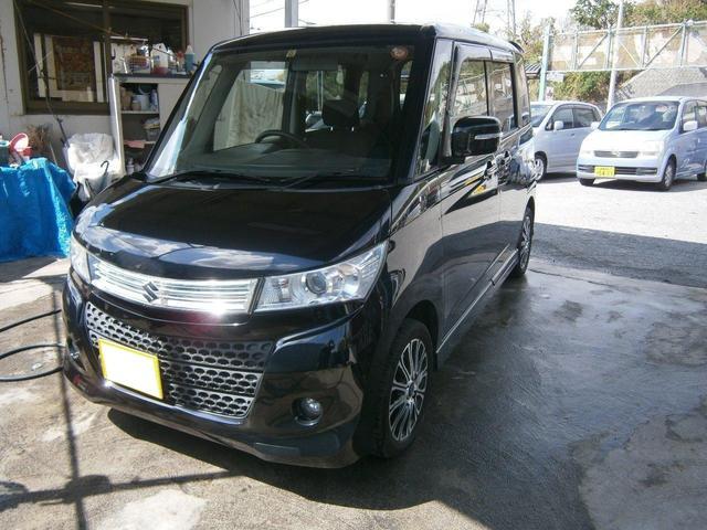 沖縄の中古車 スズキ パレットSW 車両価格 49万円 リ済別 2010(平成22)年 10.3万km ブラック
