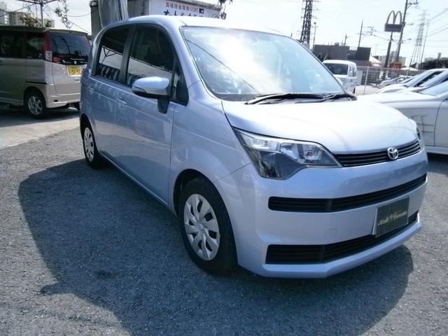 沖縄の中古車 トヨタ スペイド 車両価格 45万円 リ済別 2012(平成24)年 4.9万km ライトブルーM