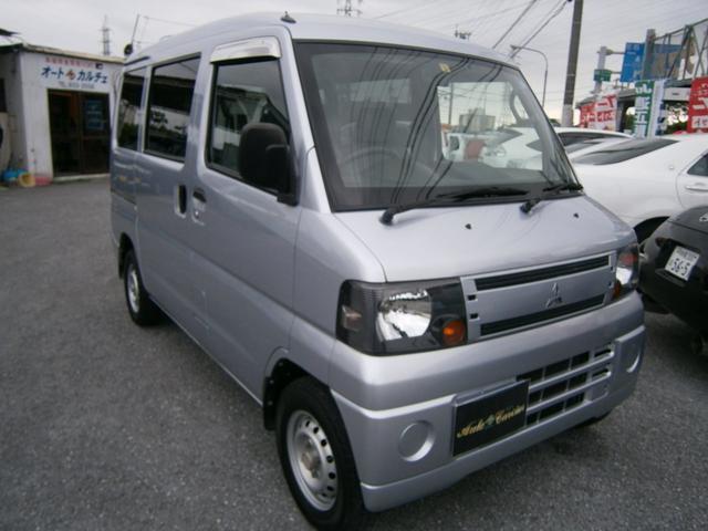 沖縄の中古車 三菱 ミニキャブバン 車両価格 33万円 リ済別 2011(平成23)年 12.9万km ライトグレーM