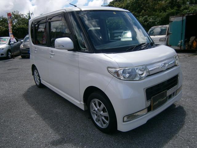 沖縄の中古車 ダイハツ タント 車両価格 39万円 リ済別 2008(平成20)年 7.3万km パールM