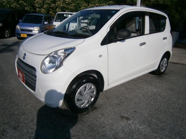 沖縄の中古車 スズキ アルトエコ 車両価格 35万円 リ済別 2014(平成26)年 6.0万km ホワイト
