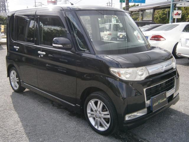 沖縄の中古車 ダイハツ タント 車両価格 39万円 リ済別 2009(平成21)年 9.8万km ブラックM