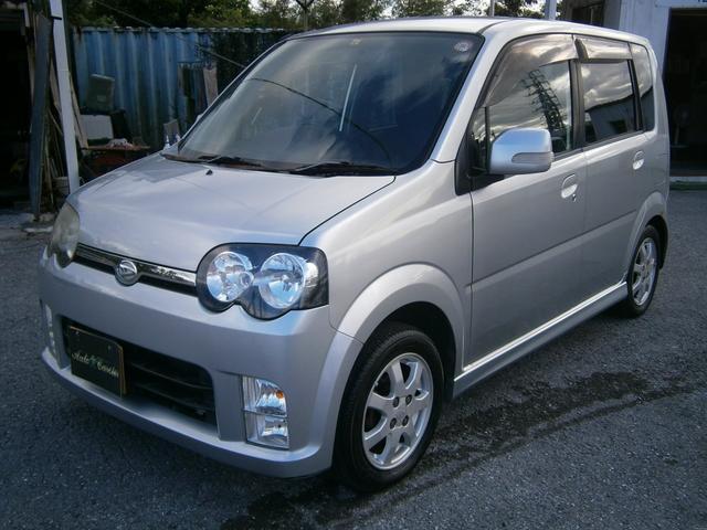 沖縄の中古車 ダイハツ ムーヴ 車両価格 13万円 リ済別 2006(平成18)年 12.1万km ライトグレーM