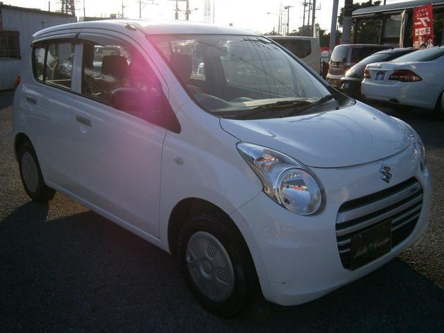 沖縄の中古車 スズキ アルトエコ 車両価格 29万円 リ済別 2014(平成26)年 6.1万km ホワイト