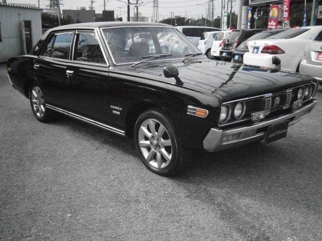 沖縄の中古車 日産 セドリック 車両価格 ASK リ済別 1973(昭和48)年 8.7万km ブラック