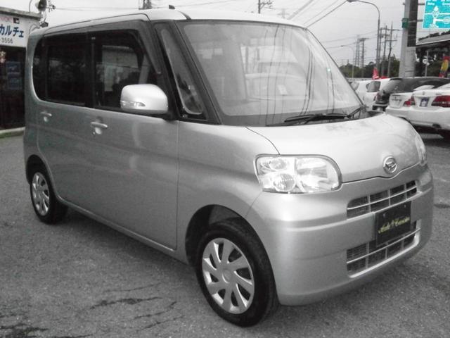 沖縄の中古車 ダイハツ タント 車両価格 39万円 リ済別 2011(平成23)年 9.2万km ライトグレーM