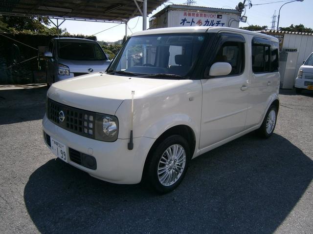 沖縄県の中古車ならキューブ トラビス HDDナビエディション