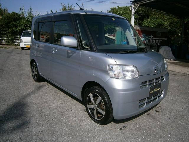 沖縄の中古車 ダイハツ タント 車両価格 35万円 リ済別 2012(平成24)年 9.9万km ライトグレーM