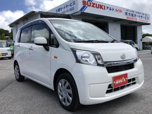 沖縄の中古車 ダイハツ ムーヴ 車両価格 65万円 リ済込 平成25年 8.1万km ホワイト