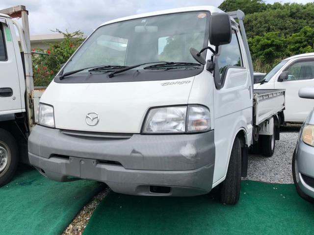 沖縄の中古車 マツダ ボンゴトラック 車両価格 74万円 リ済込 2005(平成17)年 12.4万km ホワイト